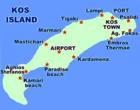 kos greece hotel and apartment on the Greek island of Kos dodecanese