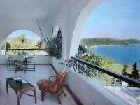 Balcony Anastasia Villa Skiathos Greece
