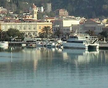 Greece Zakynthos Or Zante Island In The Ionian Hotels
